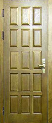 Двери из натурального шпона.